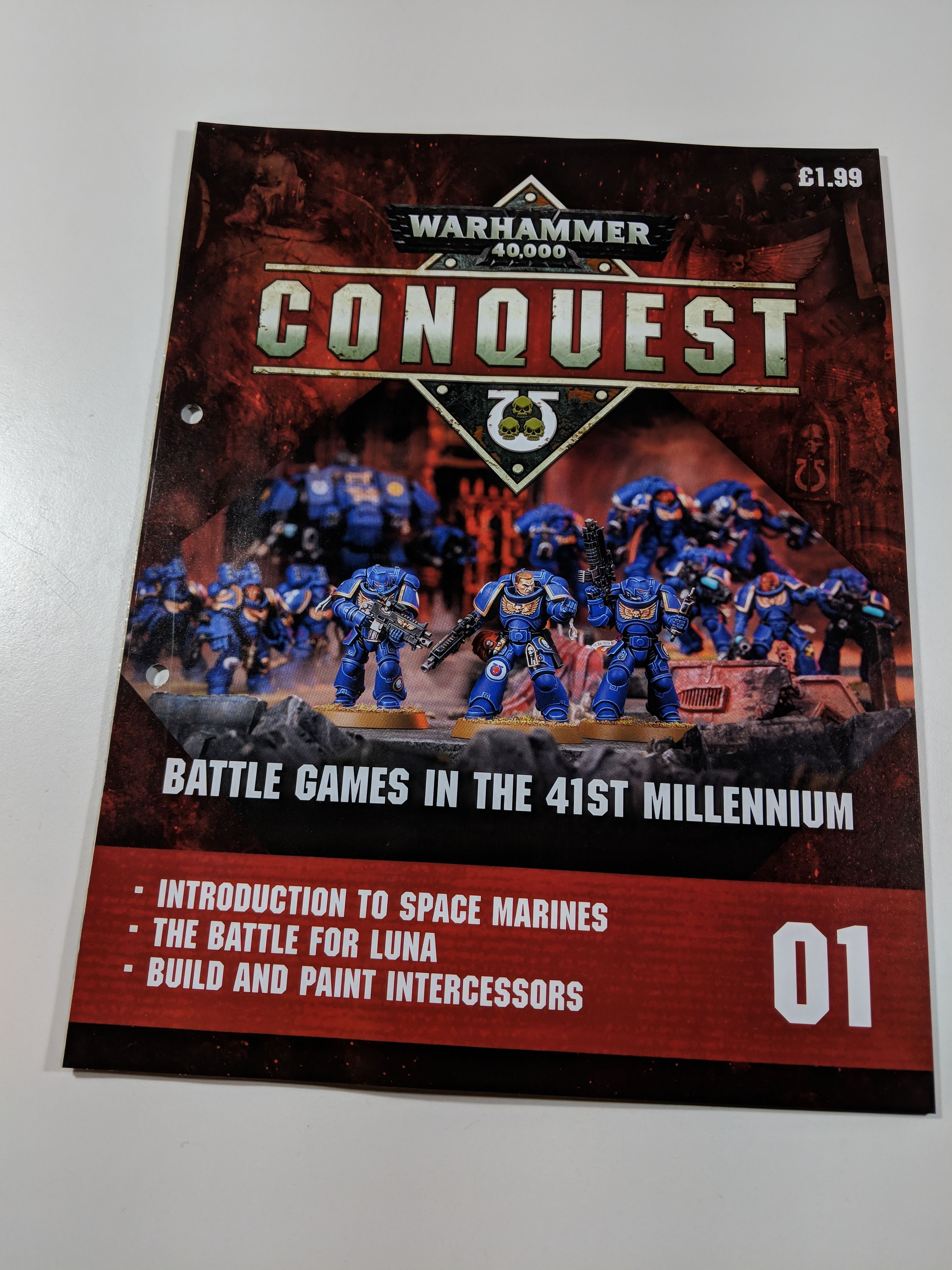Warhammer Conquest Magazine Review Issue 01 (With images