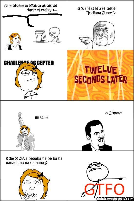 "Memes para facebook: ¿Cuántas letras tiene ""Indiana Jones""? →  #memesdivertidos #memesenespañol #memesparafacebook #Memestumblr #Memeswhatsapp"