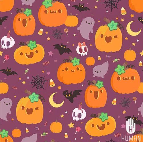 Spooky And Cute Halloween Pictures Kawaii Halloween Pumpkin Wallpaper