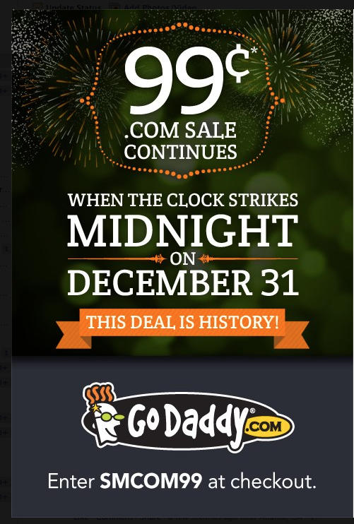 Good display ad from GoDaddy