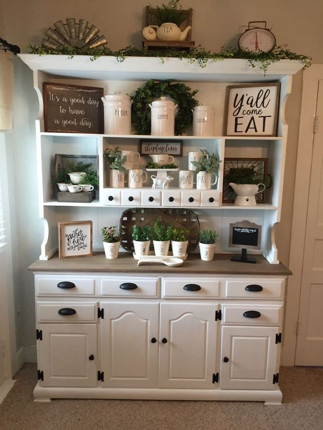 + 24 Cottage Style Kitchen Ideas Farmhouse Decor 24 - Bobayule.com #farmhousediningroom