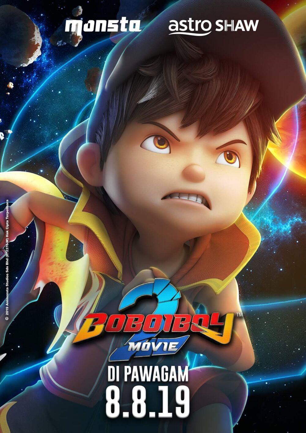 Boboiboy Movie 2 Boboiboy Wiki Fandom Galaxy Movie Boboiboy Galaxy Boboiboy Anime