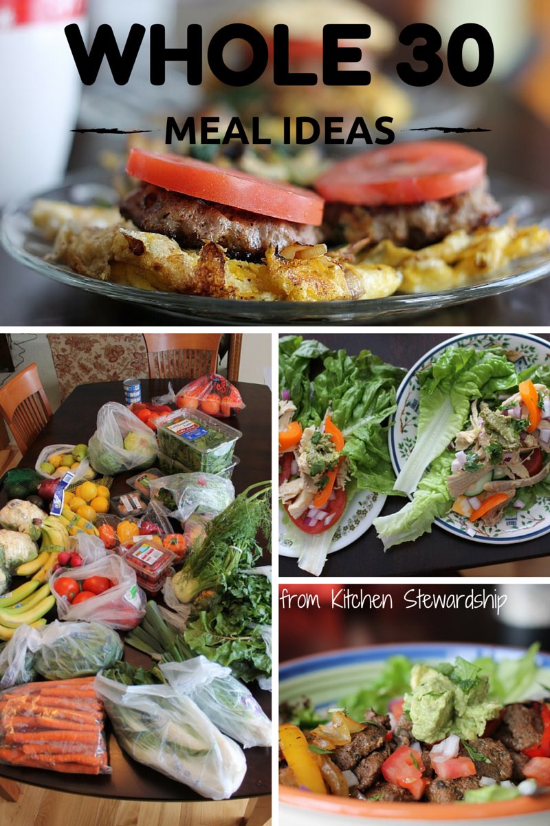 Whole 30 and AntiCavity Meal Plan and Recipes Whole 30
