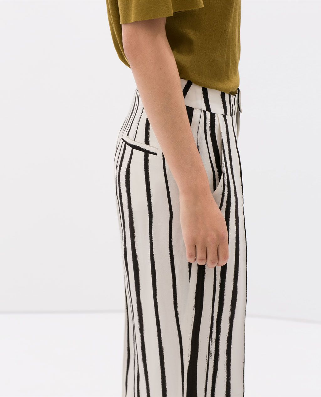 ZARA - NEW THIS WEEK - STRIPED TROUSERS