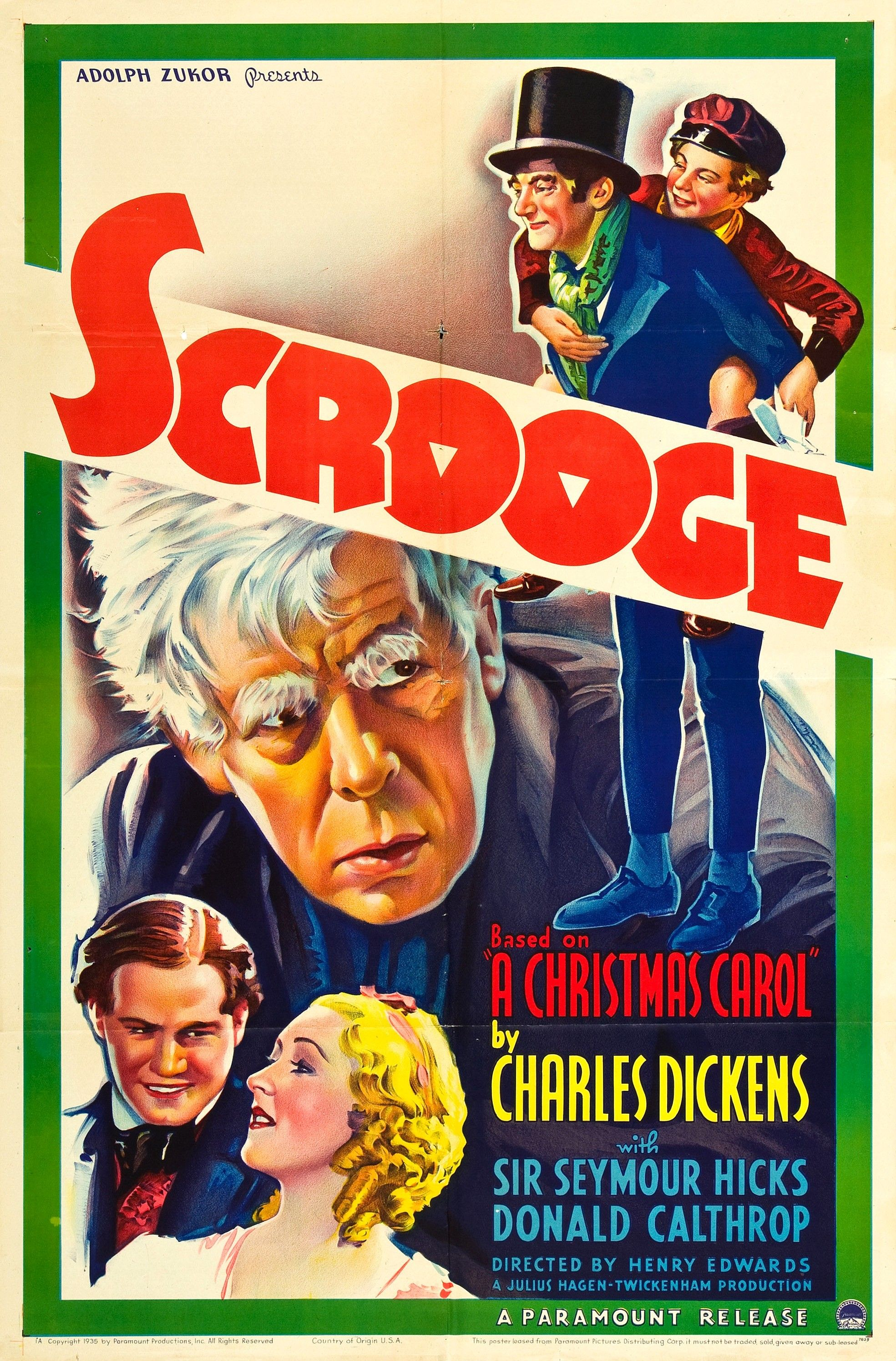 Pin By Adam Benoit On Vintage Movie Posters They Don T Make Em Like That Anymore Scrooge Movie Full Movies Online Free Movie Posters