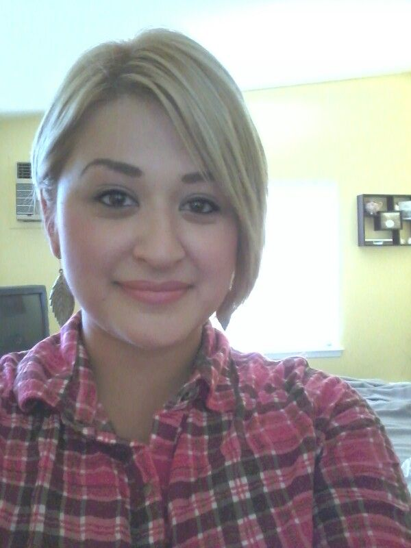 I luv'd my blonde hair...too much work though to maintain