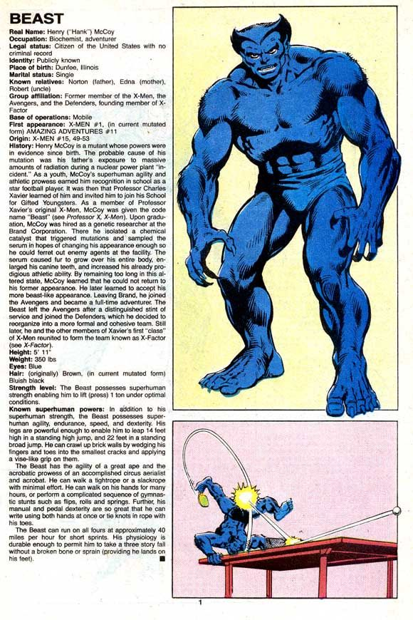 THE OFFICIAL HANDBOOK OF THE MARVEL UNIVERSE DELUXE EDITION - Google Search
