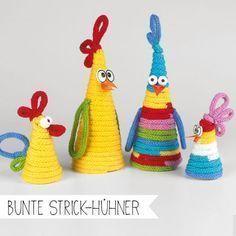 Photo of Basteln für Ostern mit dem Strickliesel, um Schnüre mit Hühnern zu verbinden