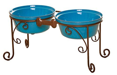 Sparks Elevated Dog Bowl and Pet Stand ** You can find out more details at the affiliate link of the image.