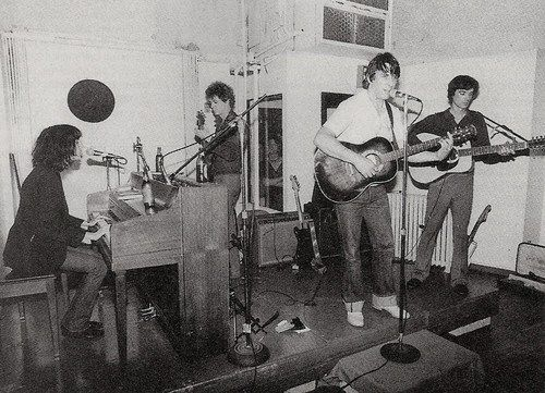 Patti Smith, Lou Reed, John Cale and David Byrne