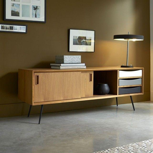 meuble tv en bois de teck 155 ruben - Meuble Tv Vintage Andersen