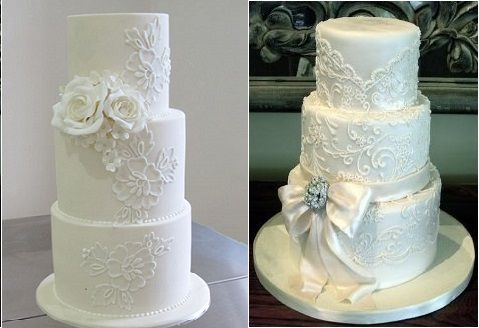 Lace Piping For Wedding Cakes Tips And Tutorials On Cake Geek Magazine Http