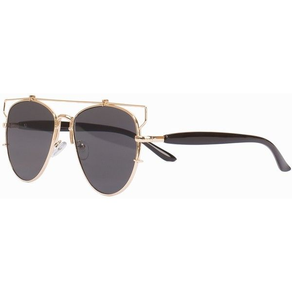 Delphine Detroit Sunglasses ❤ liked on Polyvore featuring accessories, eyewear and sunglasses