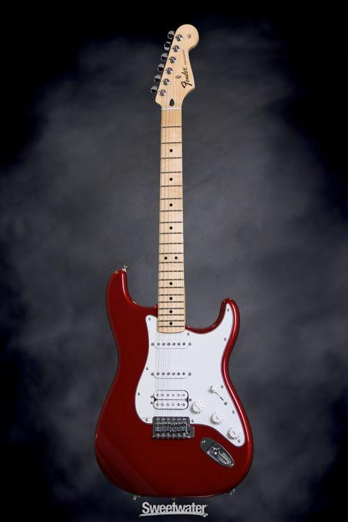Fender Standard Strat Hss Candy Apple Red Sweetwatercom
