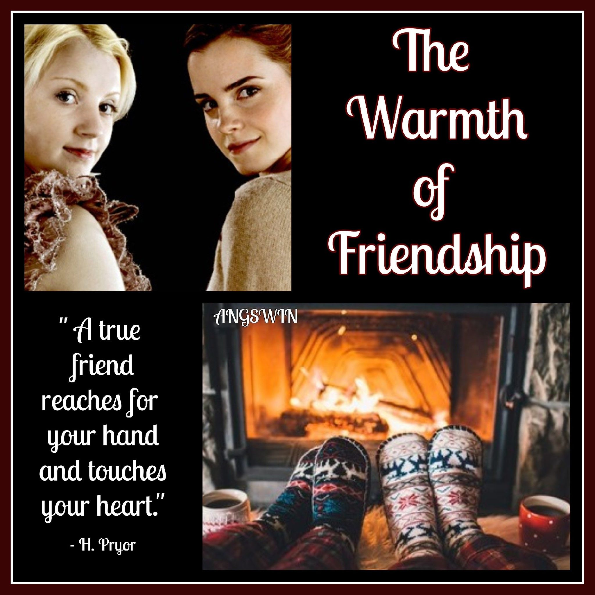 The Warmth Of Friendship By Angswin Rating T Hermione Granger Luna Lovegood Gen Summary Hermi Friendship Harry Potter Fanfiction Supportive Husband