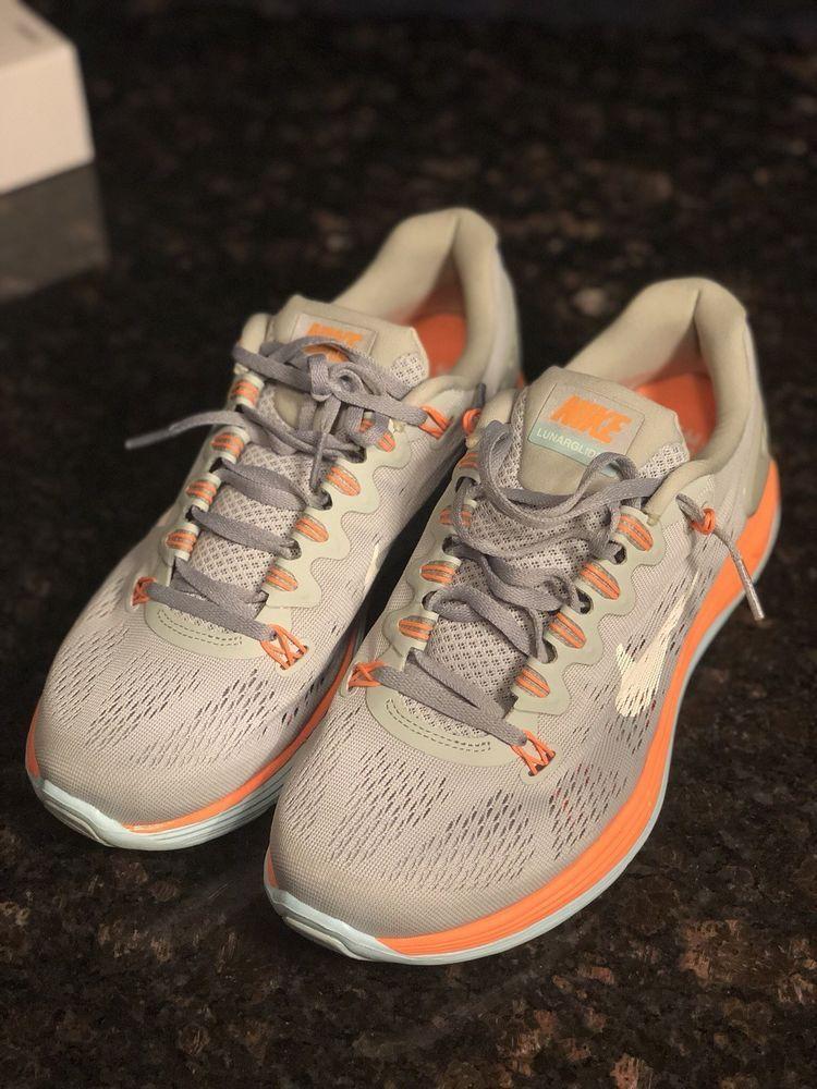 first rate 5b3cb 49f5f Nike Lunarglide 5 Women Size 10 Running Cross Training Shoes fashion  clothing shoes