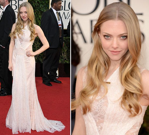 GOLDEN GLOBES 2015 - Amanda Seyfried - Vestido Givenchy Couture