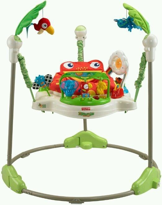 ff8e3f3f6 Fisher-Price Rainforest Jumperoo  Jumperoo