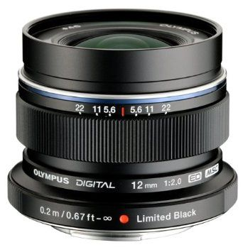Olympus Special Edition M. 12mm f/2.0 Lens