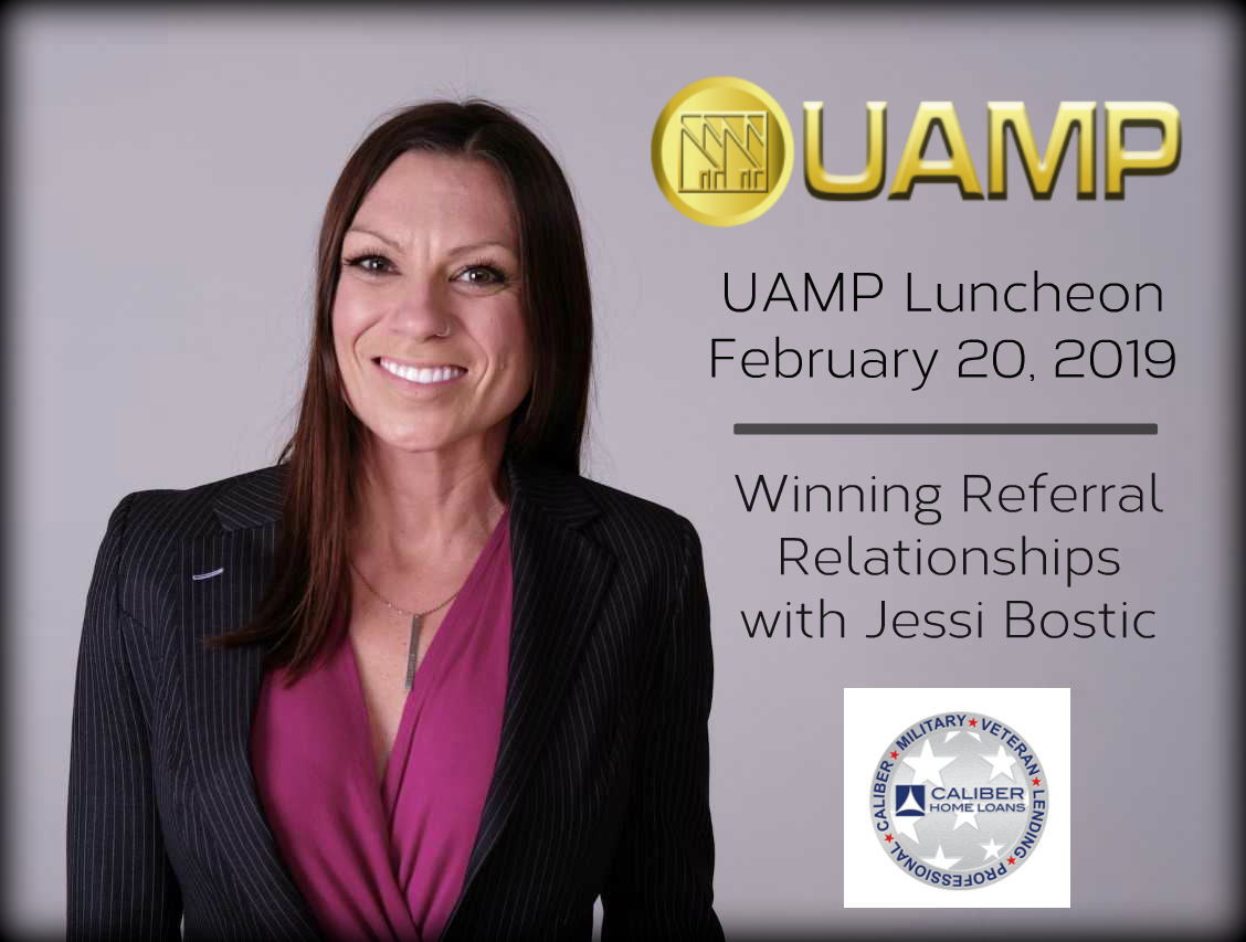 Uamp Luncheon February 20 2019 Thank You Tracy Evans And Caliber