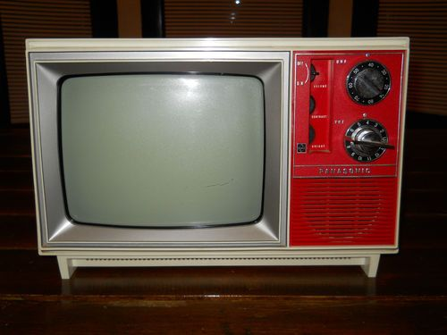 VINTAGE 1950s 1960s PORTABLE TELEVISION TV OLYMPIC MODEL ...  |1960s Portable Televisions