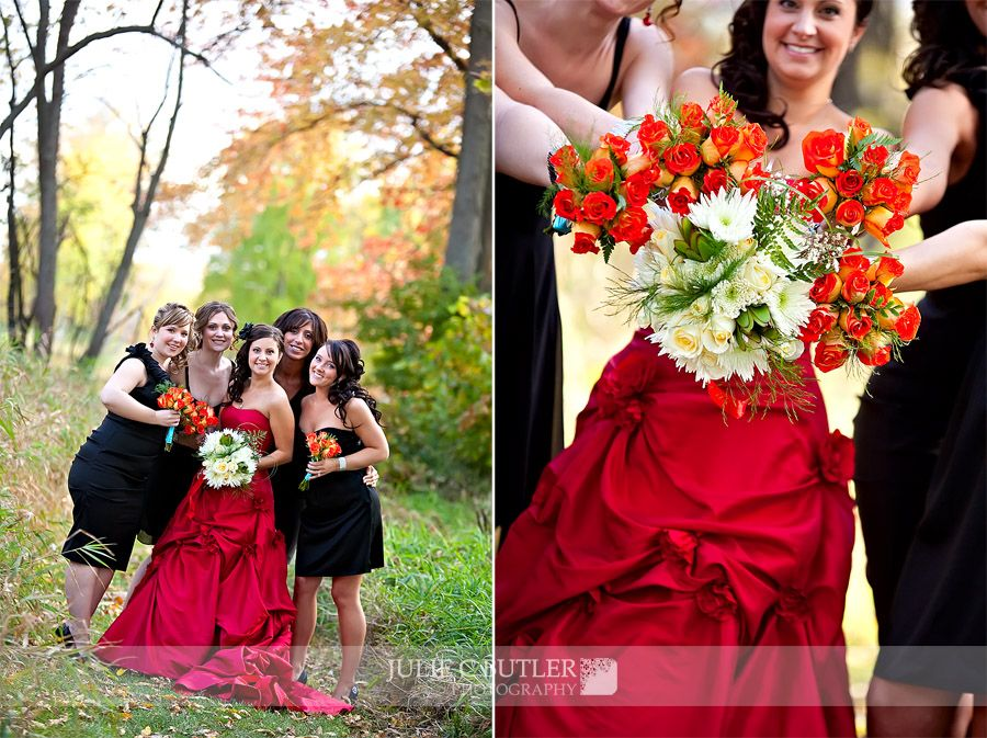 julie and her bridesmaids