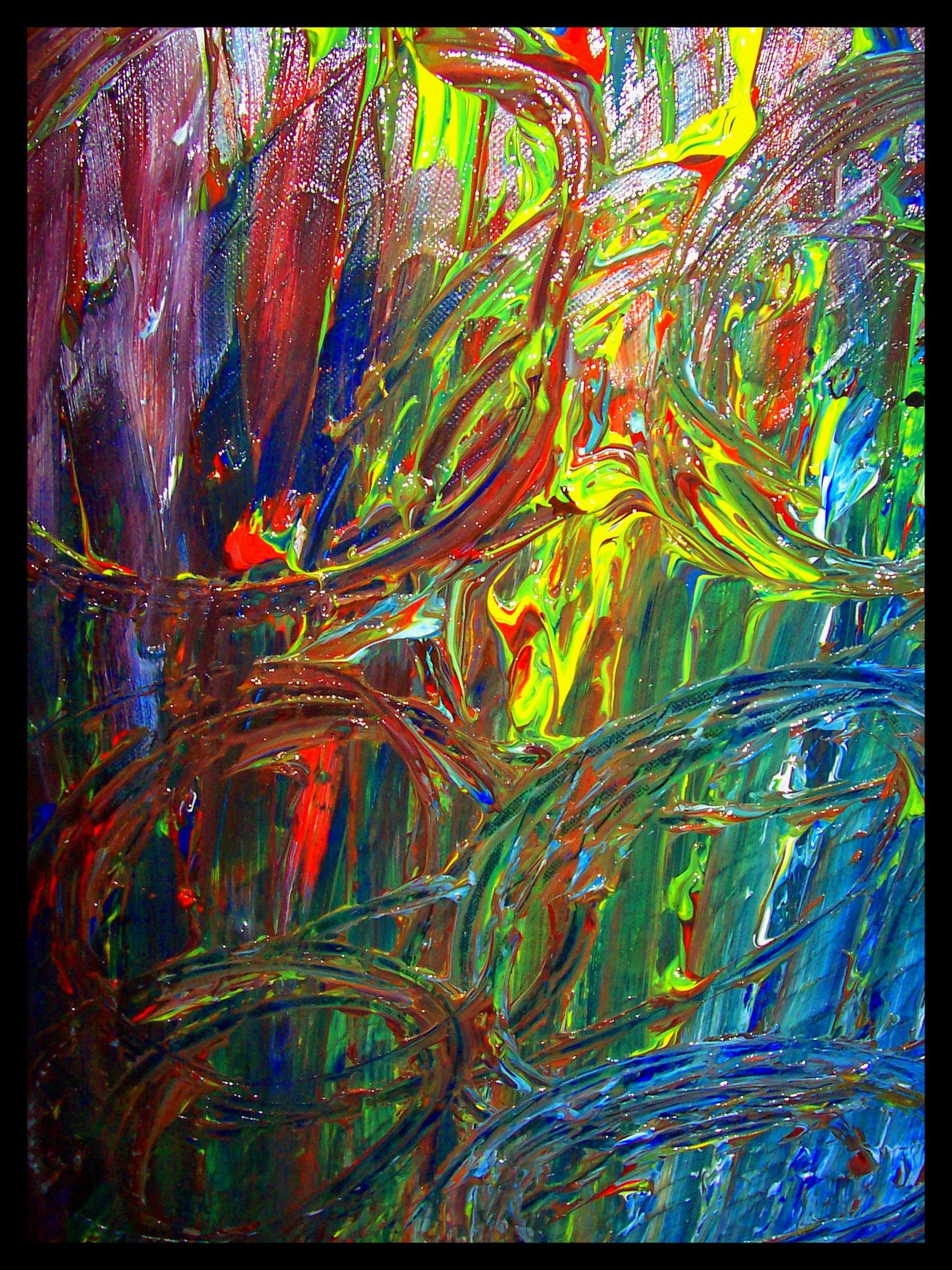 pin by trey coppland art and design on abstract art work, chaos by