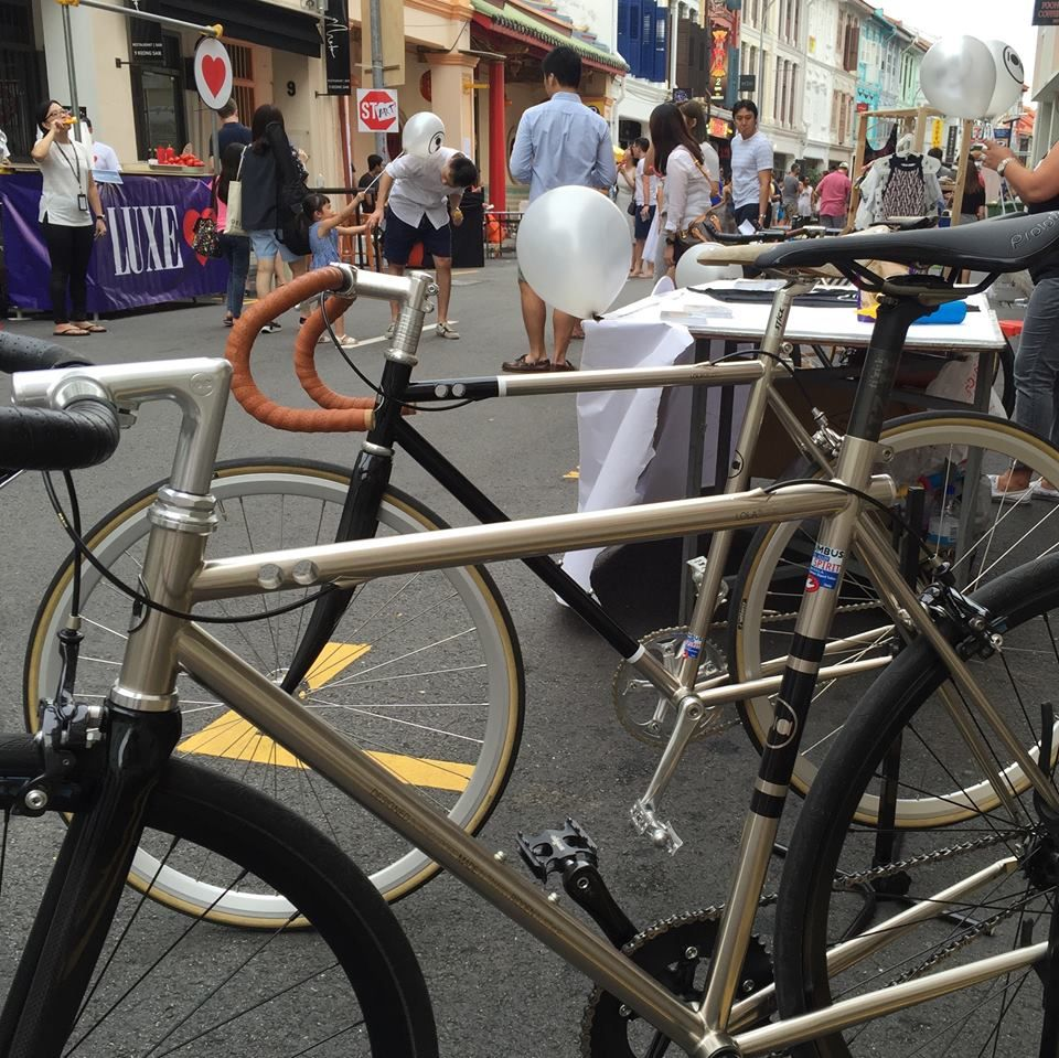 The street party on Saturday was a great success. There was lots of interest and good feedback on the Lola bikes and all the kids loved the balloons. Thanks to everyone who came down to support us and make it a great day.