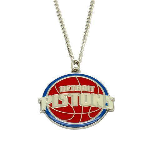 Detroit Pistons Pendant Necklace - Sunset Key Chains