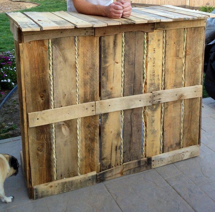 Rustic Door Wedding Ideas: Out Door Wedding Bar Ideas