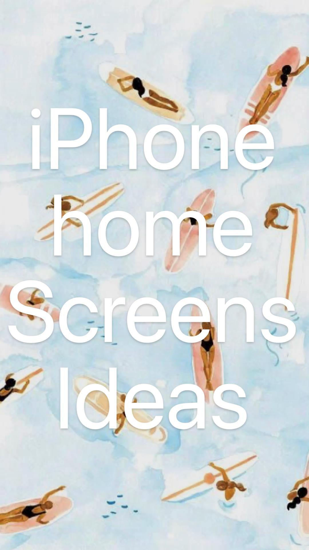 iPhone home  Screens Ideas
