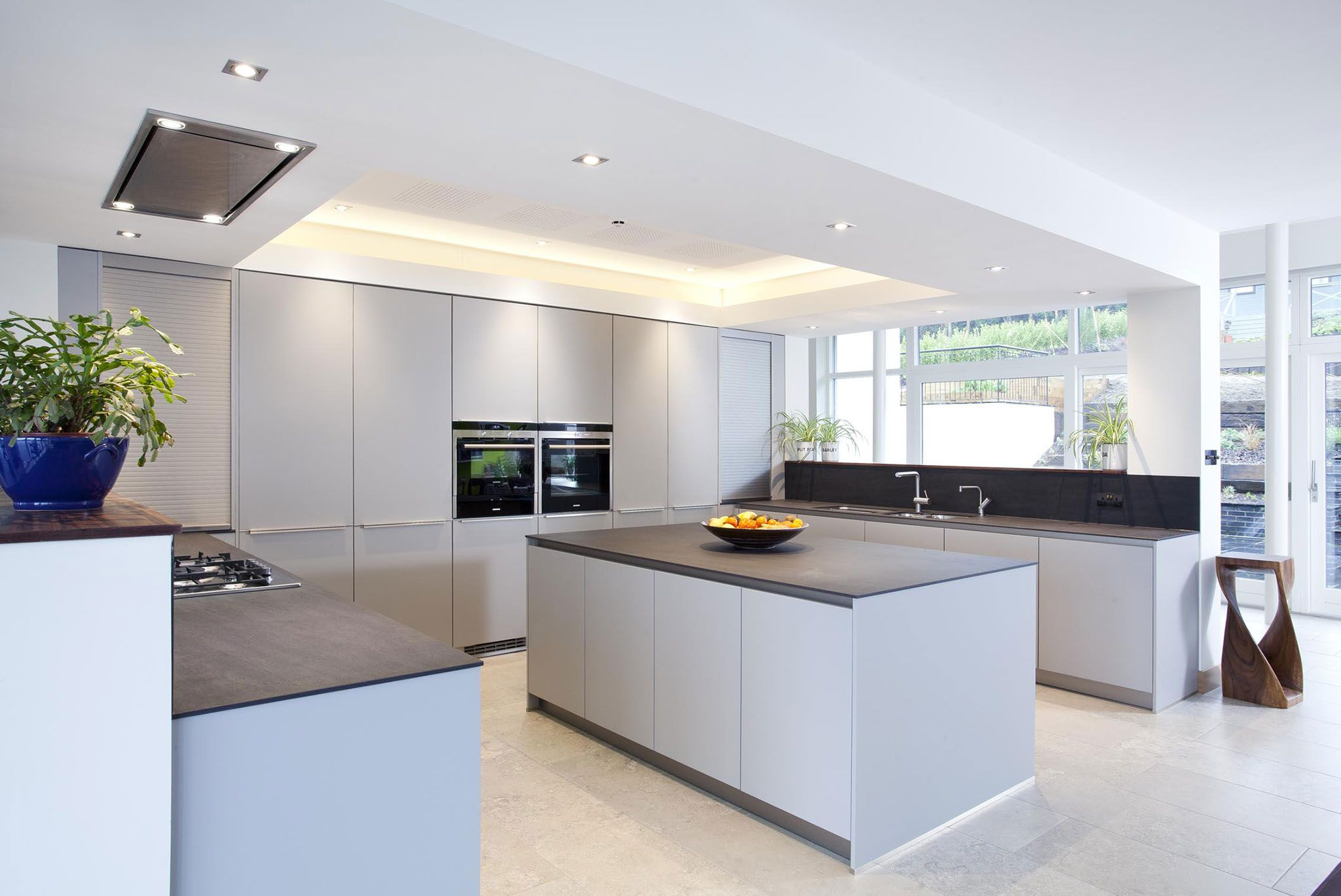 Ballymenoch Holywood Matt Grey German Design This Contemporary Inspiration Modern German Kitchen Designs Design Ideas