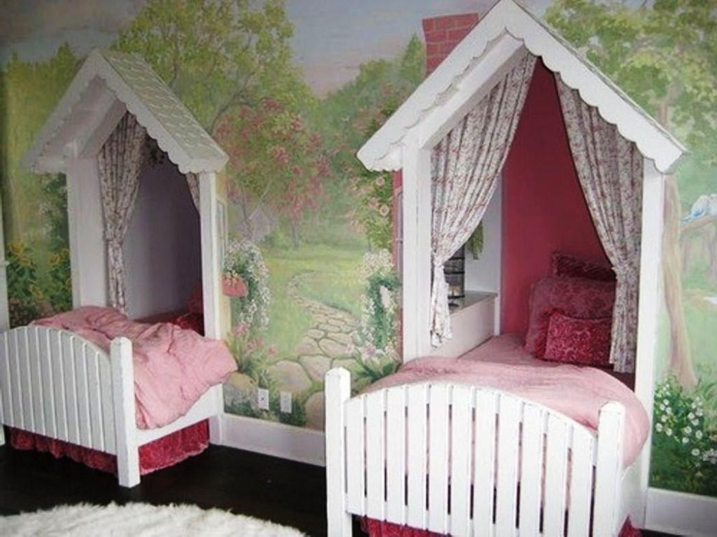 Cute Beds For Girls Twincanopybedsforgirls 1047×784  Pitter Patter