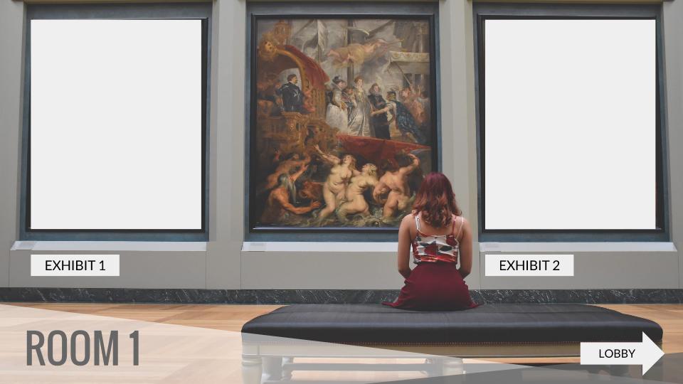 Virtual Museum Template Using Google Slides Presentation | Google ...