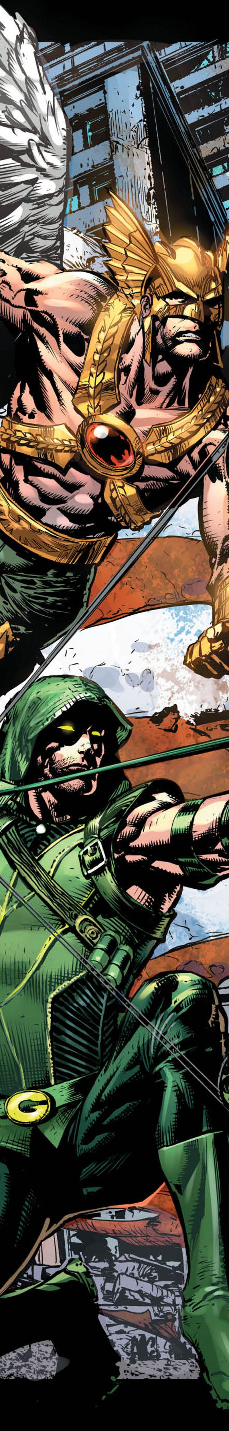 Hawkman & Green Arrow