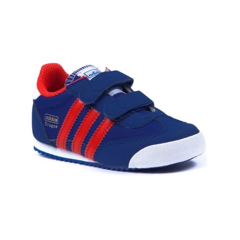 0401b502c20e Shop for Toddler Boys adidas Dragon Athletic Shoe in Royal Red White at  Journeys Kidz.