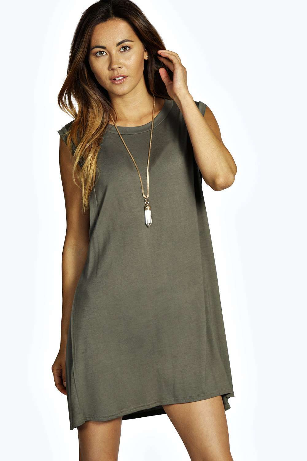 f906b3a9c1033 Drop Armhole T-Shirt Dress | Summer is in the air baby ☀️