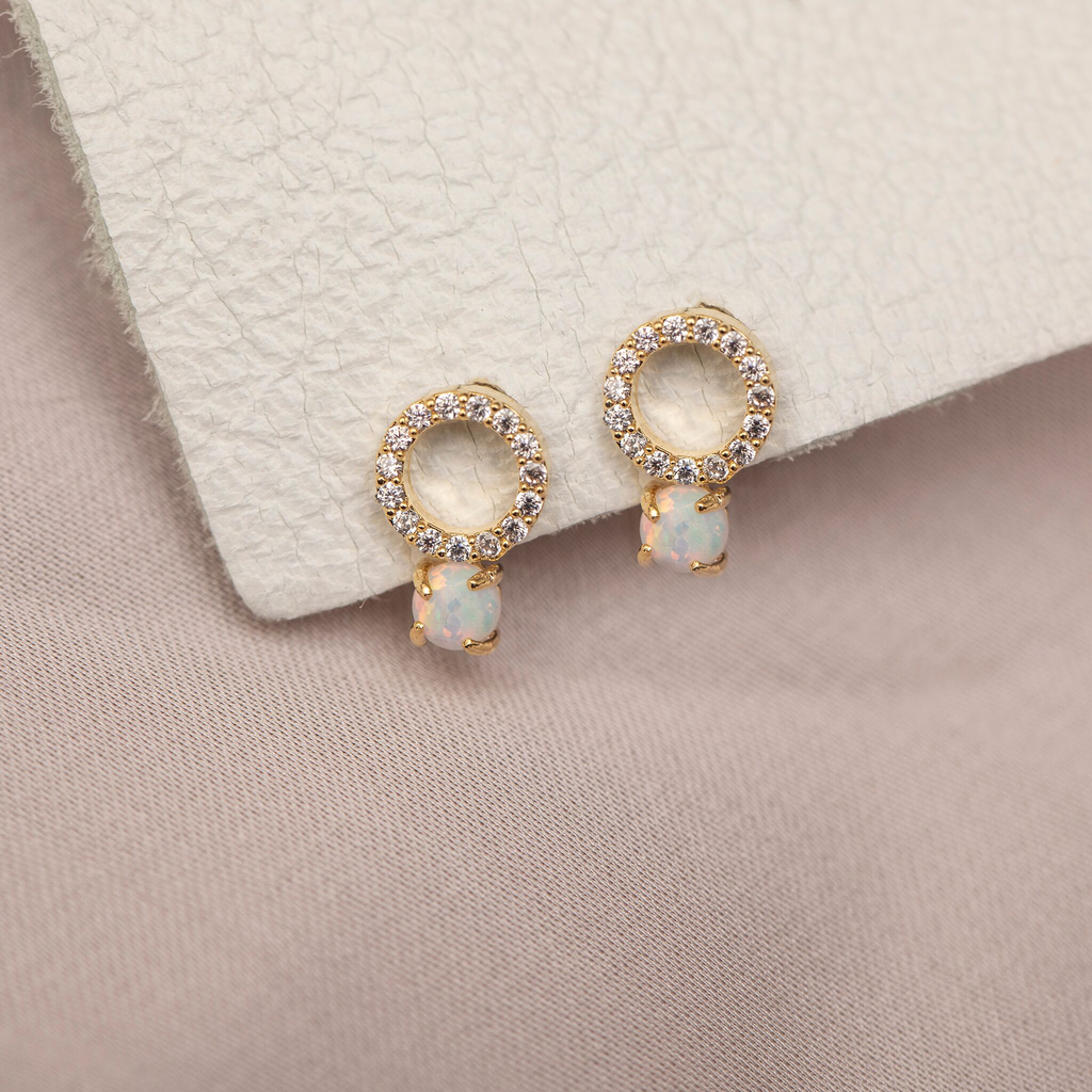 Pop Perfect Ring Diamontrigue Jewelry: Opal Studs, Ring Pop, Opal