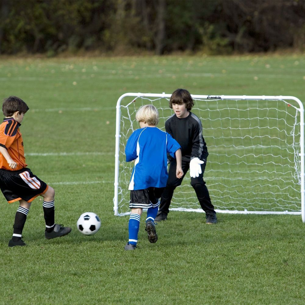 6 u0027 x 4 u0027 soccer goal football net straps post kids match training