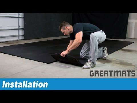 Learn how to install ShokLok Rubber tiles for a home gym floor
