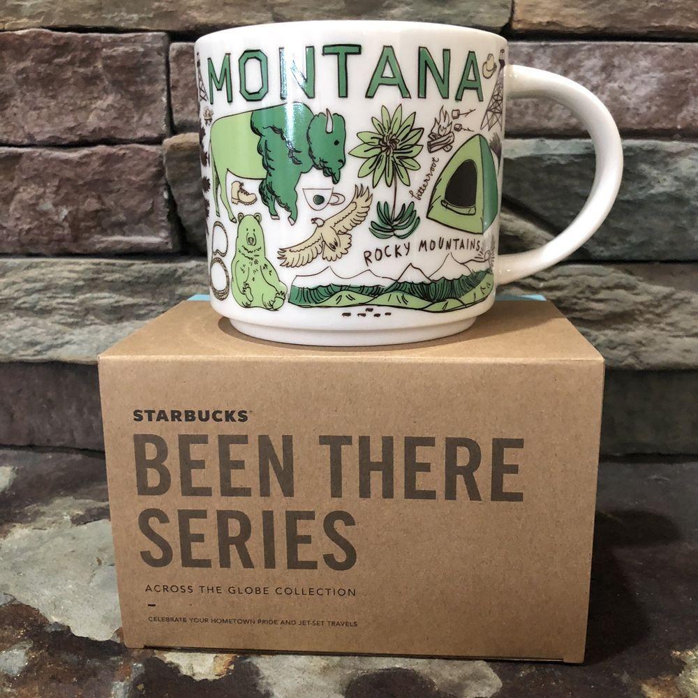 Starbucks Montana Been There Series 14oz Coffee Cup Mug