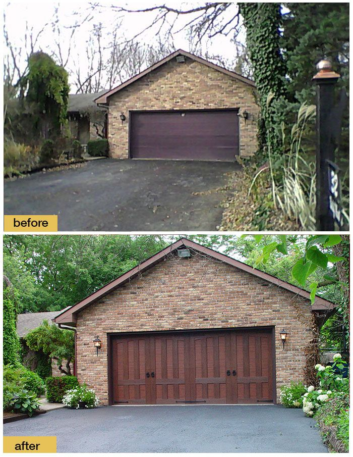 There S Ordinary Brown Garage Doors And Then There S