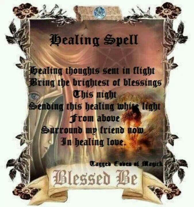 Healing Spells, Spelling, Healing Magic