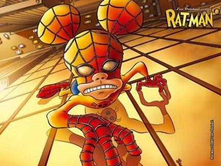 Rat-Man (comics) di Ortolani (parodia Spiderman)