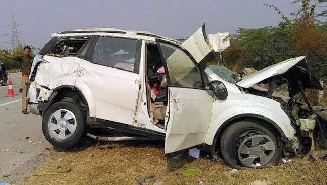 Xuv500 Accident On Yamuna Expressway Was Not Due To Tyre Burst
