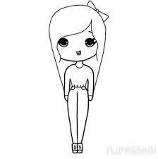 Image Result For Chibi Template Chibi Girl Drawings Easy Chibi