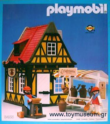 Vintage Playmobil Pottery Stall   Google Search