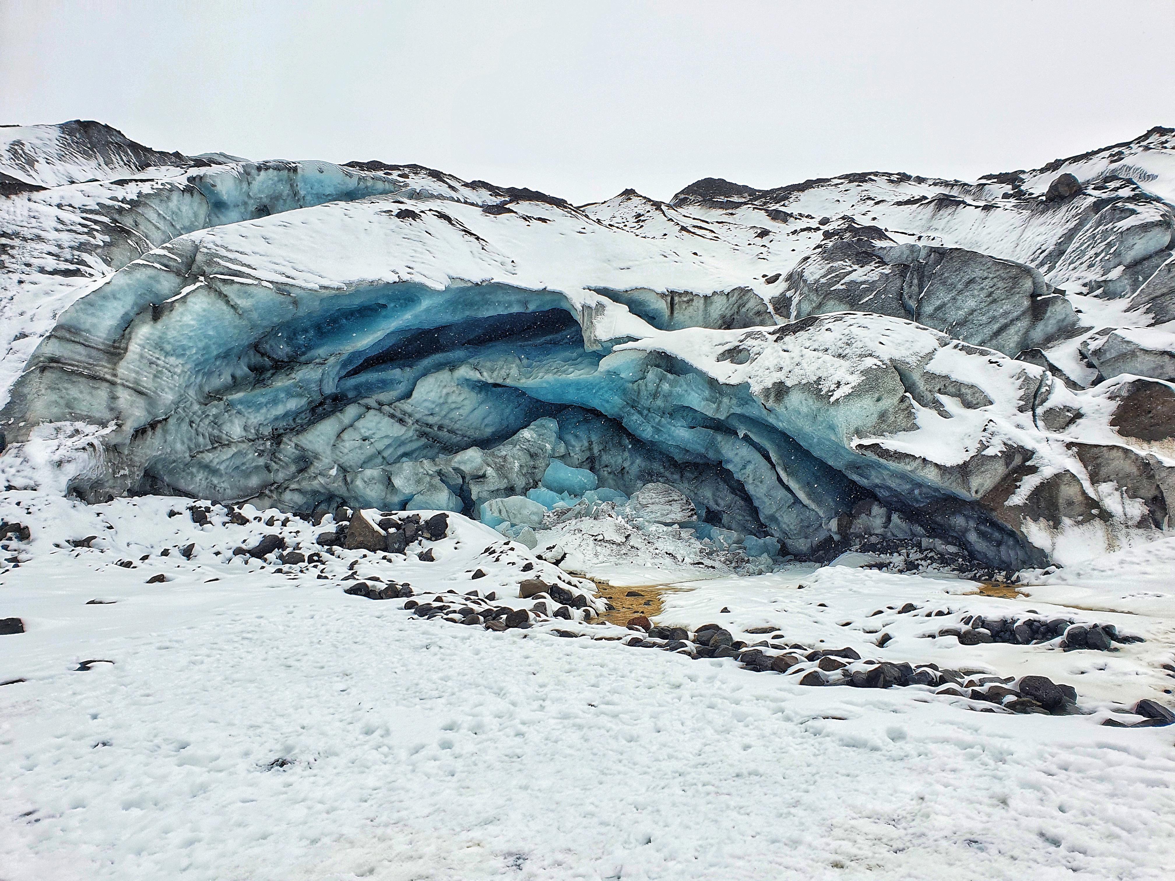 Jökulsárlón Iceland [OC] [1920x1080] LaurenTahnia https