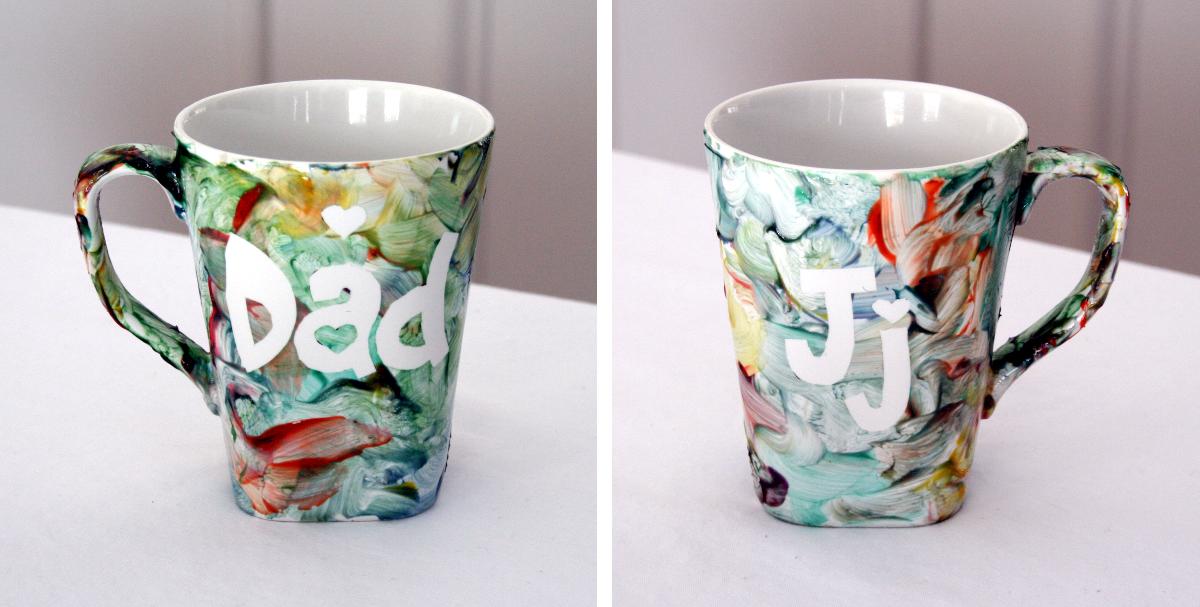 A Mug for Dad | A Mommy's Creative Binge | Mug crafts, Mugs