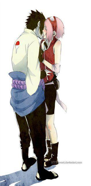 Sakura and Sasuke